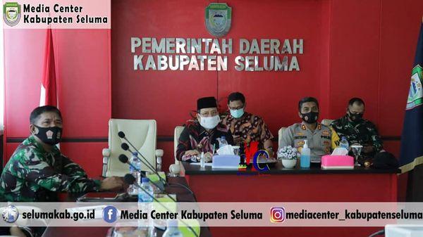 Bupati Seluma Ikuti Rakor Penegakan Hukum Terkait Protokol Kesehatan Pada Pilkada Serentak 2020 Viral Publik