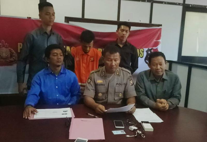 Press Conference Polda Bengkulu